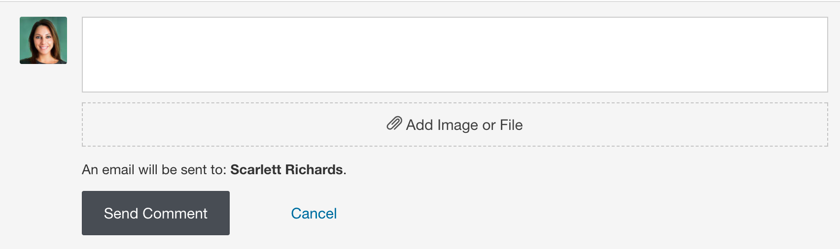 Attach an Image or File