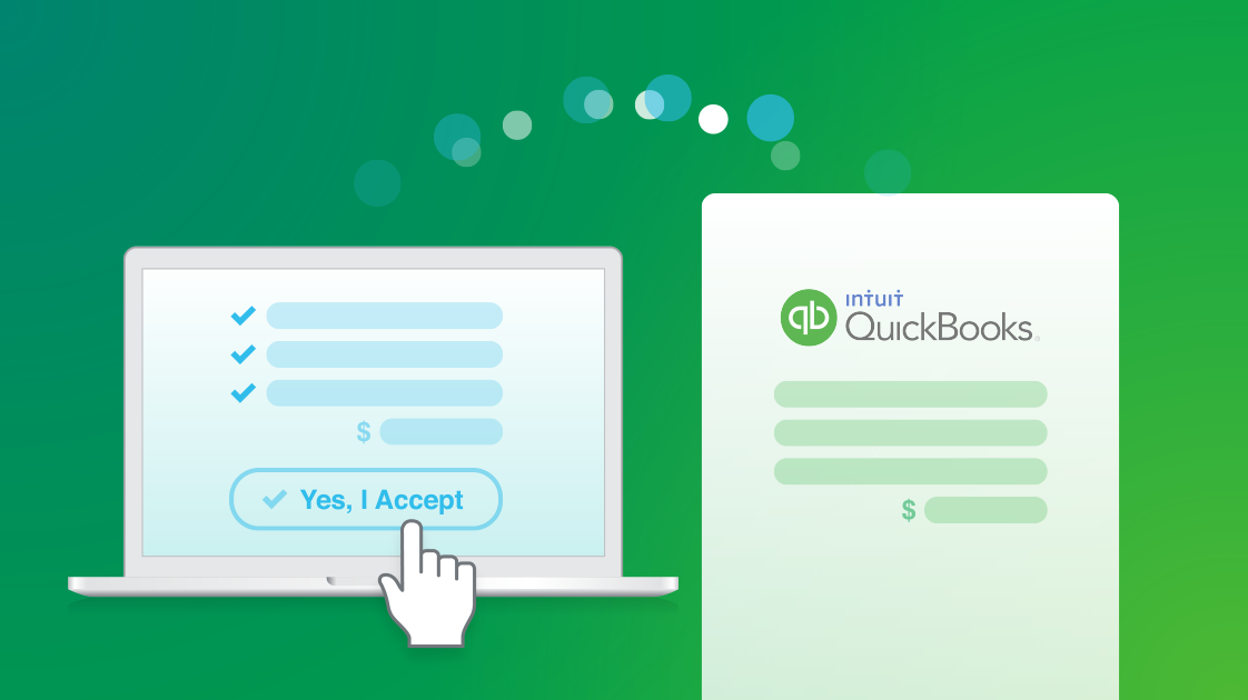 Make money flow with our QuickBooks Online integration